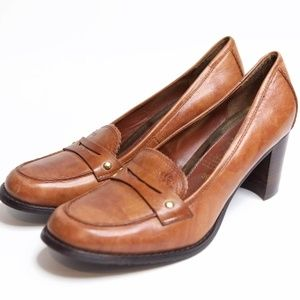 Women's GEOX Respira Penny Loafer Pumps 39 EUR